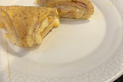 Low Carb Käse-Schinken-Röllchen 11