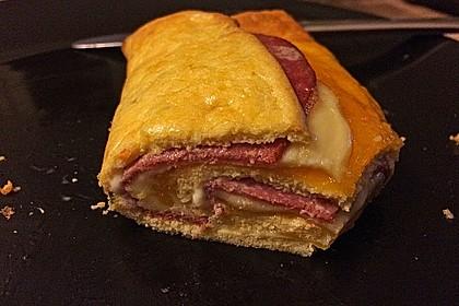 Low Carb Käse-Schinken-Röllchen 8
