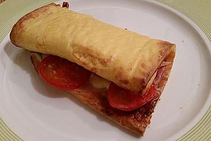 Low Carb Käse-Schinken-Röllchen 3