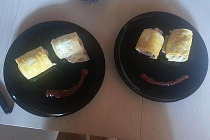 Low Carb Käse-Schinken-Röllchen 9