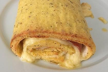 Low Carb Käse-Schinken-Röllchen 5