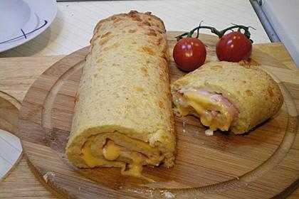 Low Carb Käse-Schinken-Röllchen 2