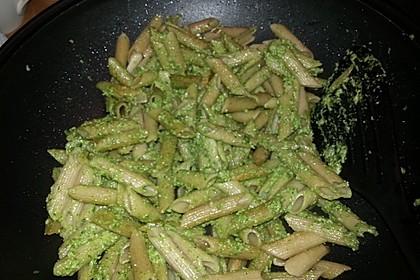 Rucola-Sonnenblumenkern-Pesto
