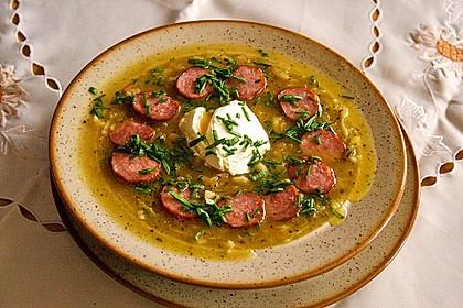 Sauerkraut-Kartoffel-Suppe 1