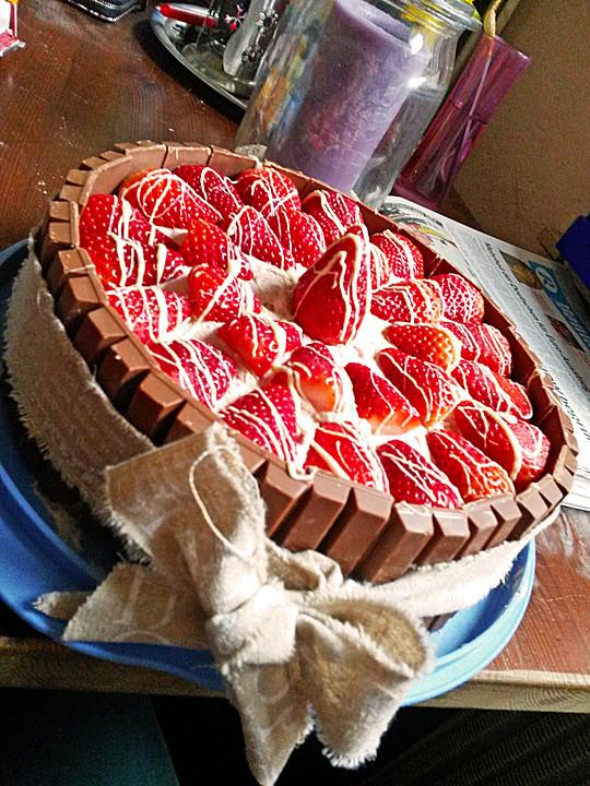 Kitkat Kuchen Von Ym1610 Chefkoch De