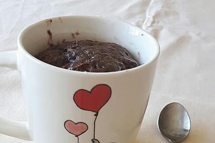 Schnelle Tassenkuchen mit Nutella (Bild)