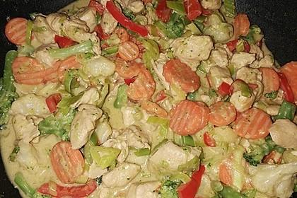 Puten-Gemüse-Pfanne 11