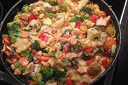 Puten-Gemüse-Pfanne 8