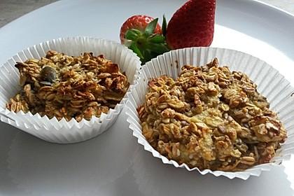 Frühstücksmuffins ohne Mehl und Zucker 1