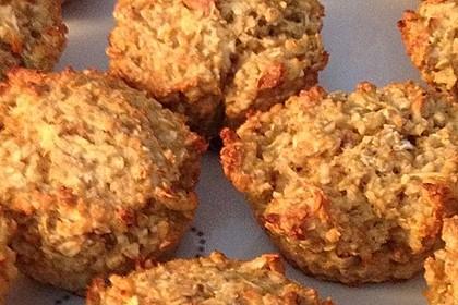Frühstücksmuffins ohne Mehl und Zucker