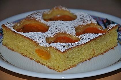 Vanille-Marillenkuchen 2