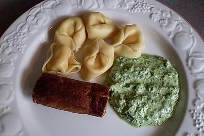 Bärlauchpesto mit Frischkäse 2