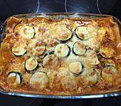 Zucchini-Lasagne mit Hackfleisch (Bild)