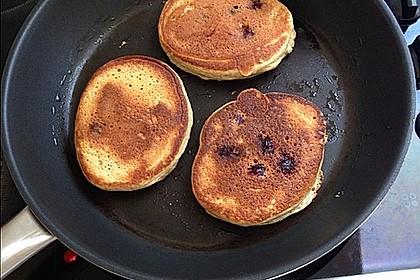 Protein-Pancakes mit Himbeeren 5