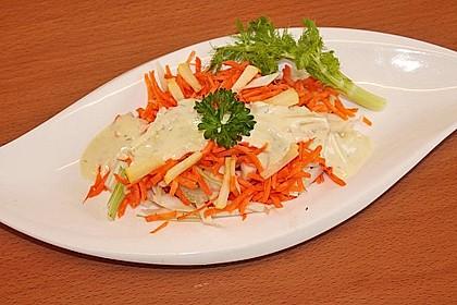 Fenchelsalat mit Karotten