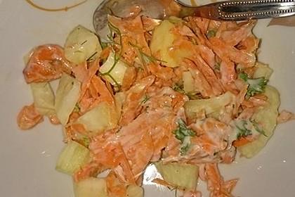Fenchelsalat mit Karotten 1