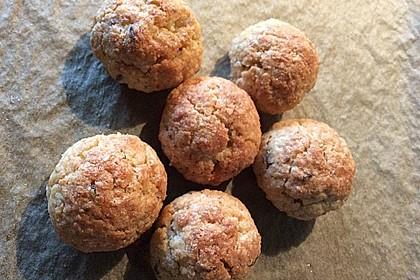 Kokos-Lavendel Kekse mit Haferflocken