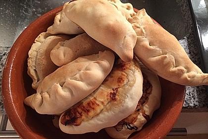Argentinische Empanadas mit Rindfleisch
