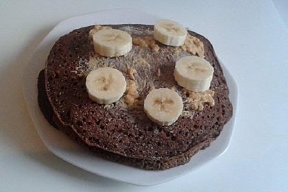 Süße vegane Pancakes / Pfannkuchen (Bild)