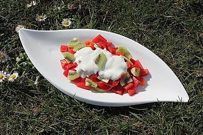 Paprika-Kiwi-Salat 1