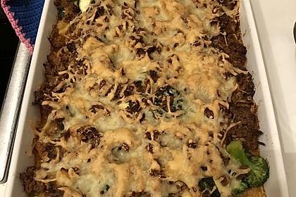 Gnocchi-Gemüseauflauf mit Hackfleischsoße 13