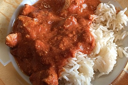Indisches Butter Chicken aus dem Ofen 98