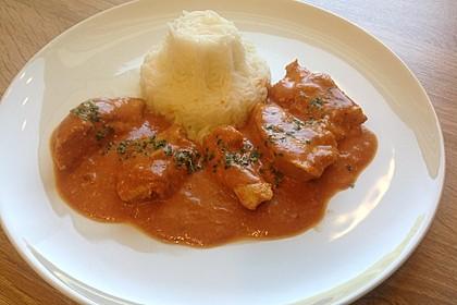 Indisches Butter Chicken aus dem Ofen 20