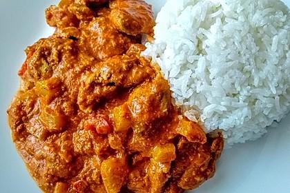 Indisches Butter Chicken aus dem Ofen 28