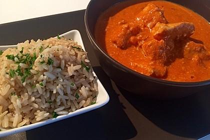 Indisches Butter Chicken aus dem Ofen 14