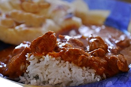 Indisches Butter Chicken aus dem Ofen 8