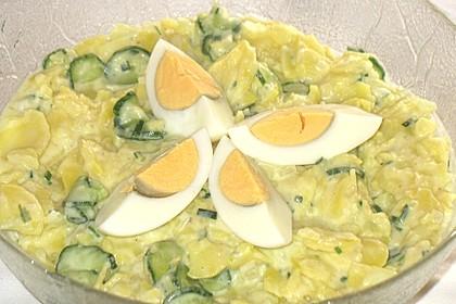 Kartoffel-Gurkensalat nach Omas Art 1