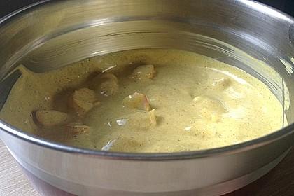 Surimi-Curry-Salat