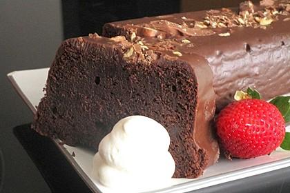 Espresso-Brownie-Kuchen (Bild)