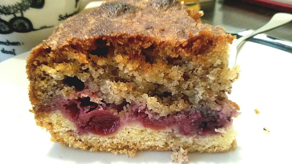 Nuss Kirsch Kuchen Von Inibieni95 Chefkoch De