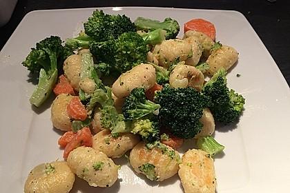 Cremige Gnocchi-Brokkoli-Pfanne