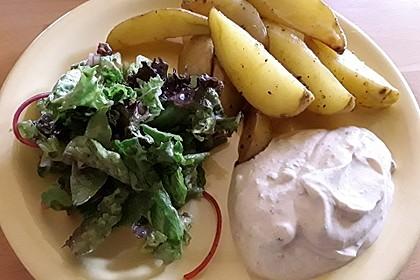 Salat-Dressing für grüne Salate 2