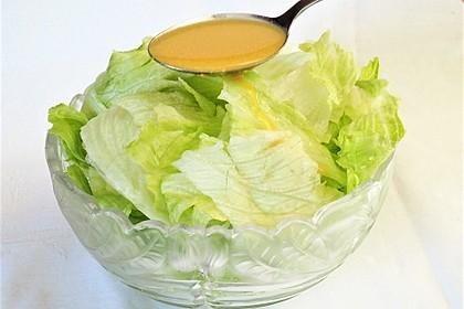 Salat-Dressing für grüne Salate