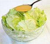 Salat-Dressing für grüne Salate (Bild)