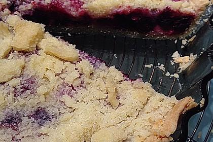 Rote Früchte Streuselkuchen