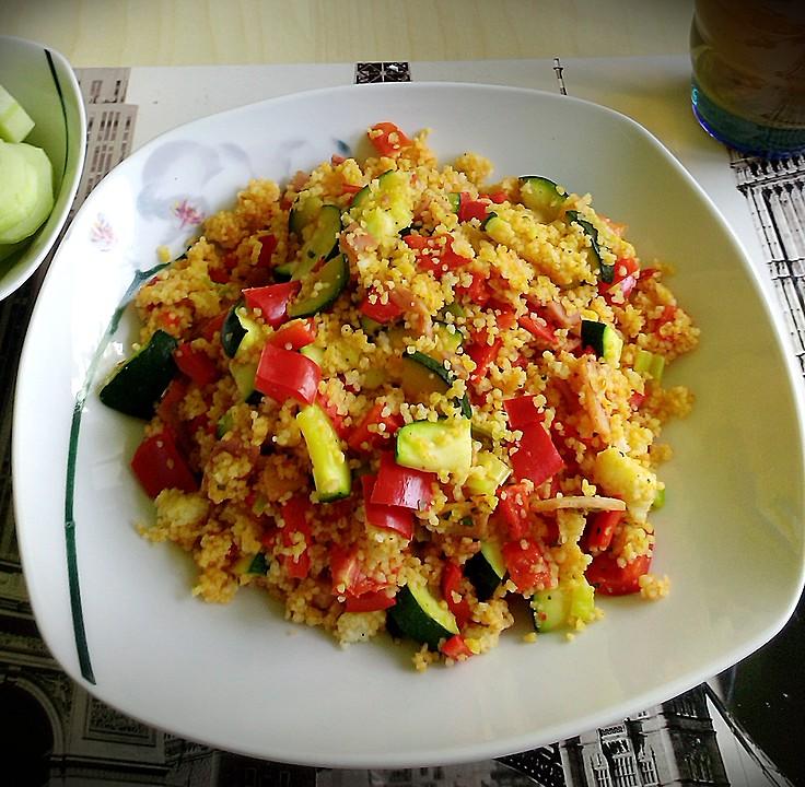 Couscous Gemüsepfanne Für Studenten Von Loomable Chefkoch