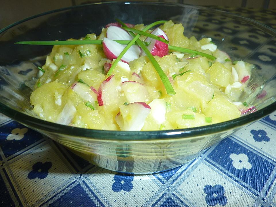 Kartoffelsalat Aus Bratkartoffeln Von Nanni77 Chefkochde