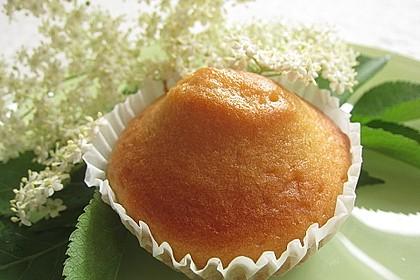 Holunderblütenmuffins (Bild)