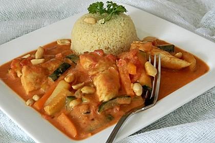 Couscous mit Hähnchen und Gemüse