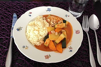Couscous mit Hähnchen und Gemüse 1