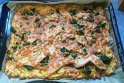 Räucherlachspizza