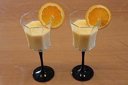 Orangen-Mandarinen-Kefir-Smoothie