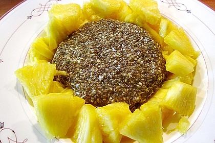 Ananas-Kokos-Chia-Pudding