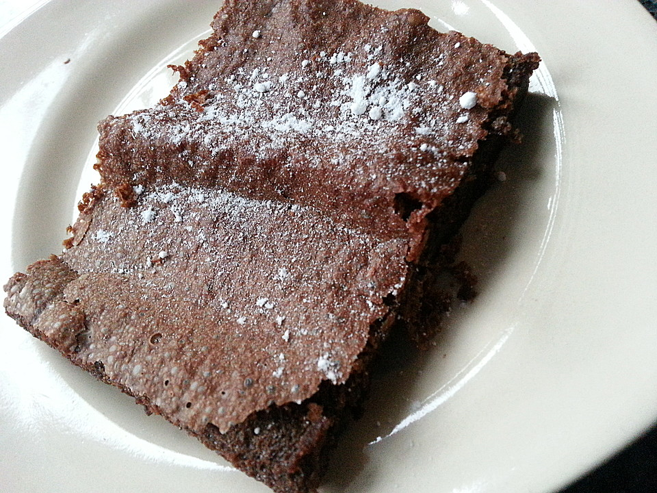 Blitz Brownies Aus Nur 2 Zutaten Von Looanaa Chefkoch De