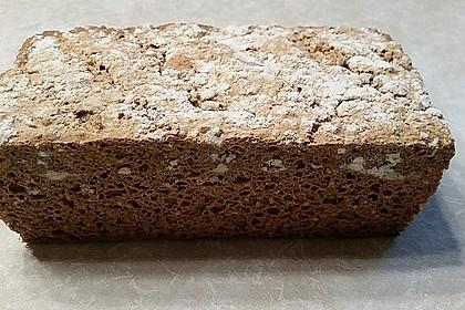 Glutenfreies schnelles, leckeres Ruck-Zuck Brot