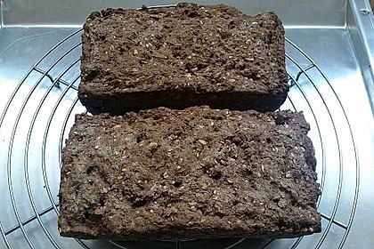 Glutenfreies schnelles, leckeres Ruck-Zuck Brot 8
